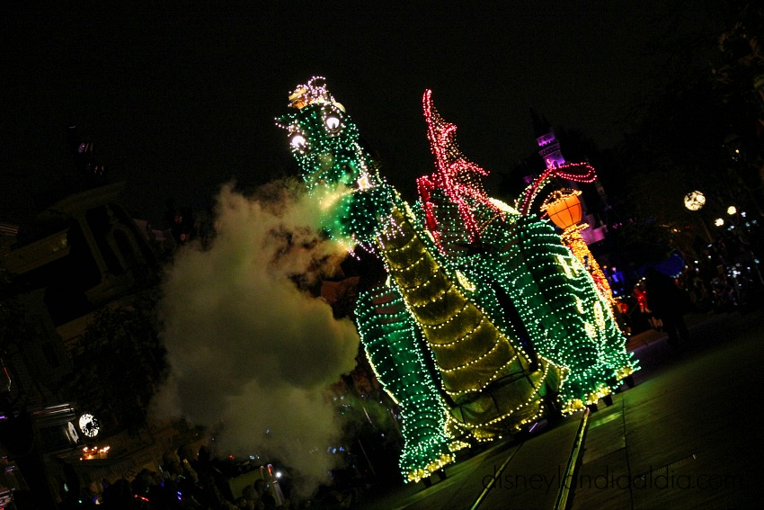 Elliot en Main Street Electrical Parade