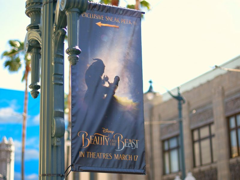 La Bella y la Bestia en 3D en Disney California Adventure