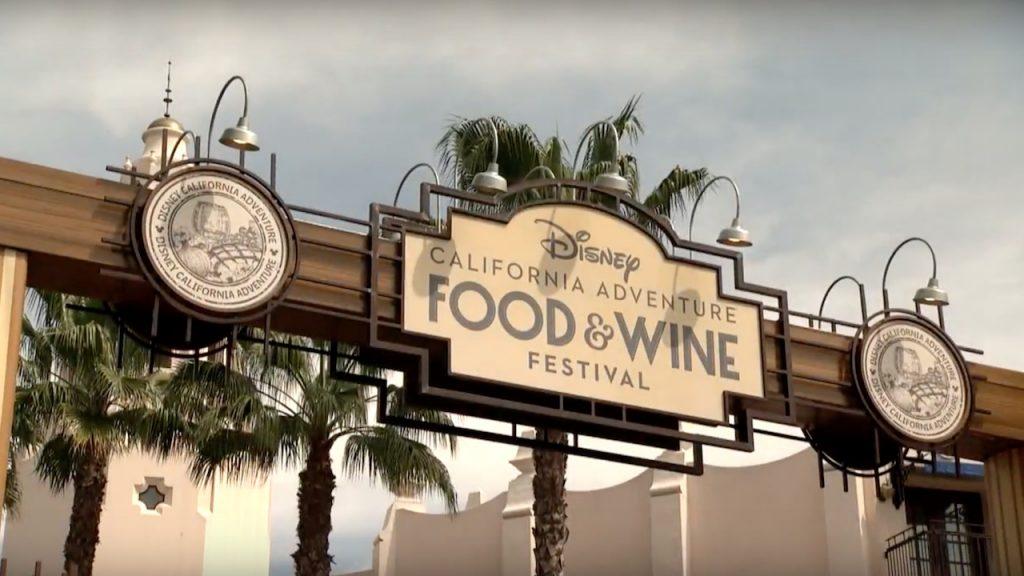 Food & Wine Festival 2017 en Disney California Adventure