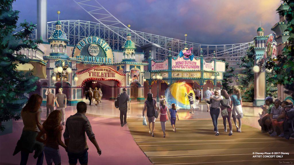Adiós Paradise Pier bienvenido Pixar Pier, emocionantes cambios llegan a Disney California Adventure en el 2018 - disneylandiaaldia.com