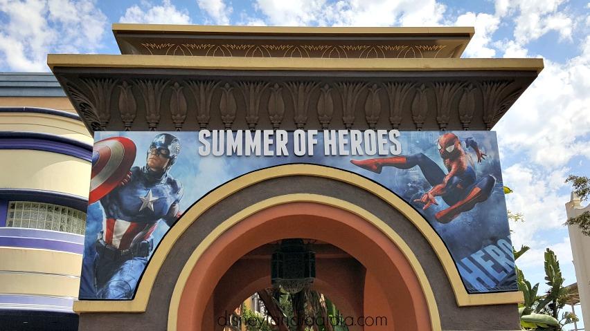 summer of heroes en Disney California adventure