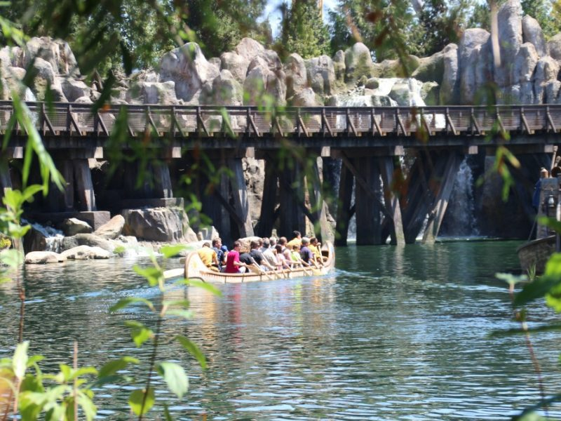 Canoes en Disneylandia