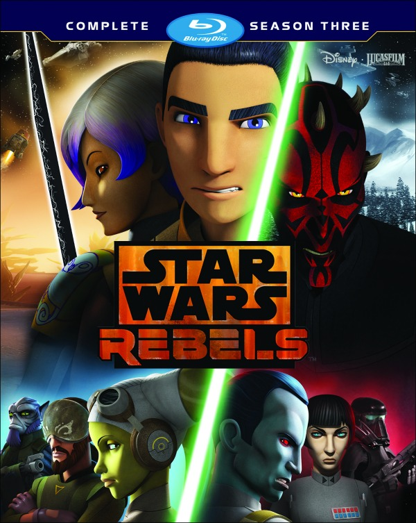 Star Wars Rebels tercera temporada