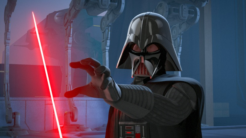 Darth Vader en Star Wars Rebels - disneylandiaaldia.com