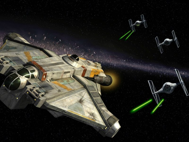 star wars rebels - nave espacial