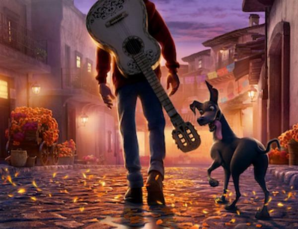 Detalle de un poster de Coco - disneylandiaaldia.com