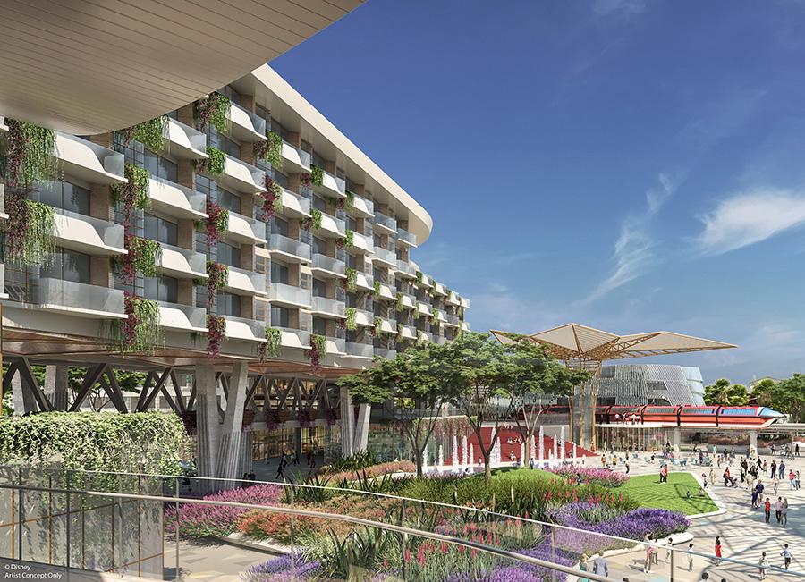 Nuevo Hotel Llega a Disneylandia el 2021