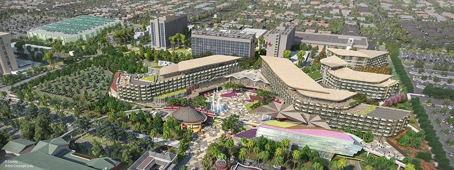 Nuevo hotel que viene a Disneylandia en 2021