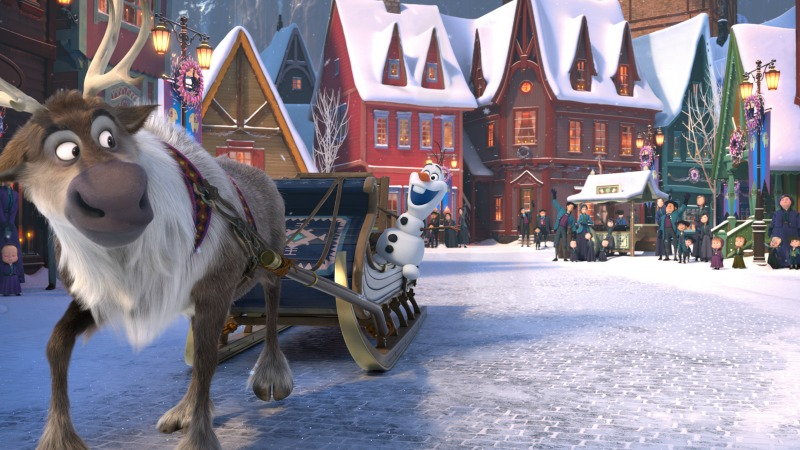 Olaf's Frozen Adventure - disneylandiaaldia.com