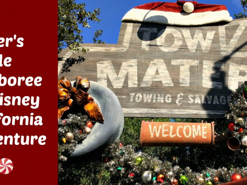 Mater's Jingle Jamboree en Disney California Adventure - disneylandiaaldia.com