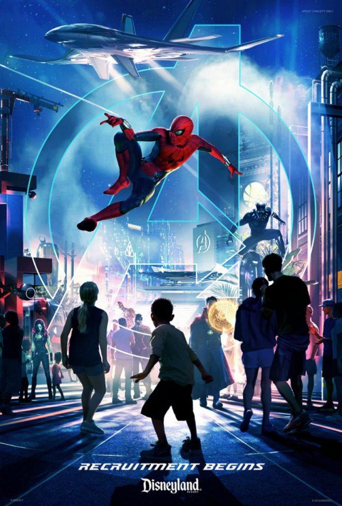 nuevo mundo en Disney California Adventure