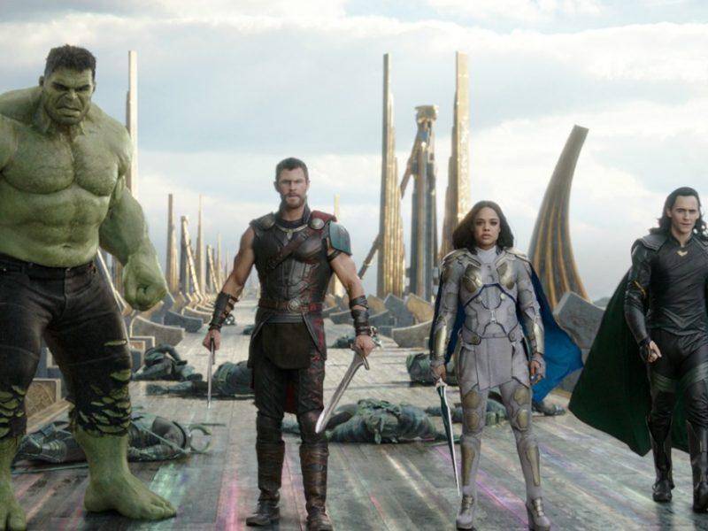 personajes de Thor Ragnarok