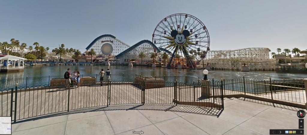 Primeras Vistas Panorámicas de 360 Grados de Disneylandia