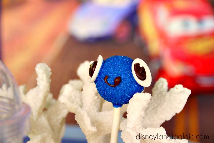 Cake pop de Finding Nemo Pixar Fest en Disneylandia