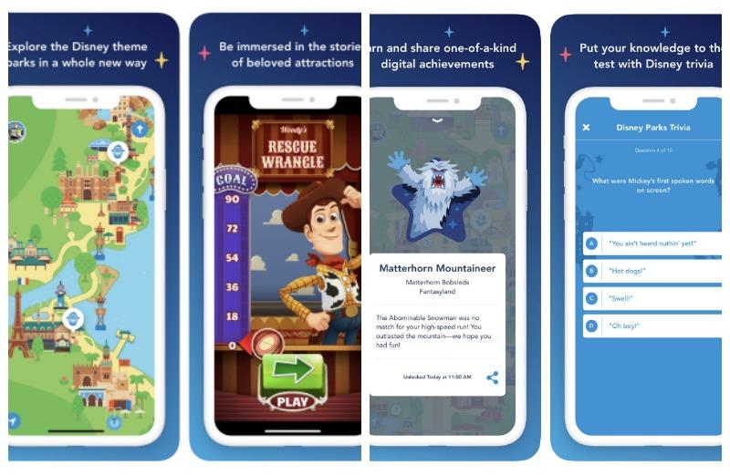 Aplicación móvil Play Disney Parks