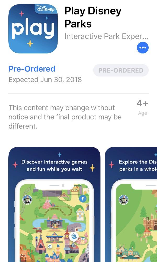 Aplicación móvil Play Disney Parks portada