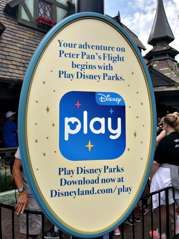 aplicación móvil Play Disney Parks App