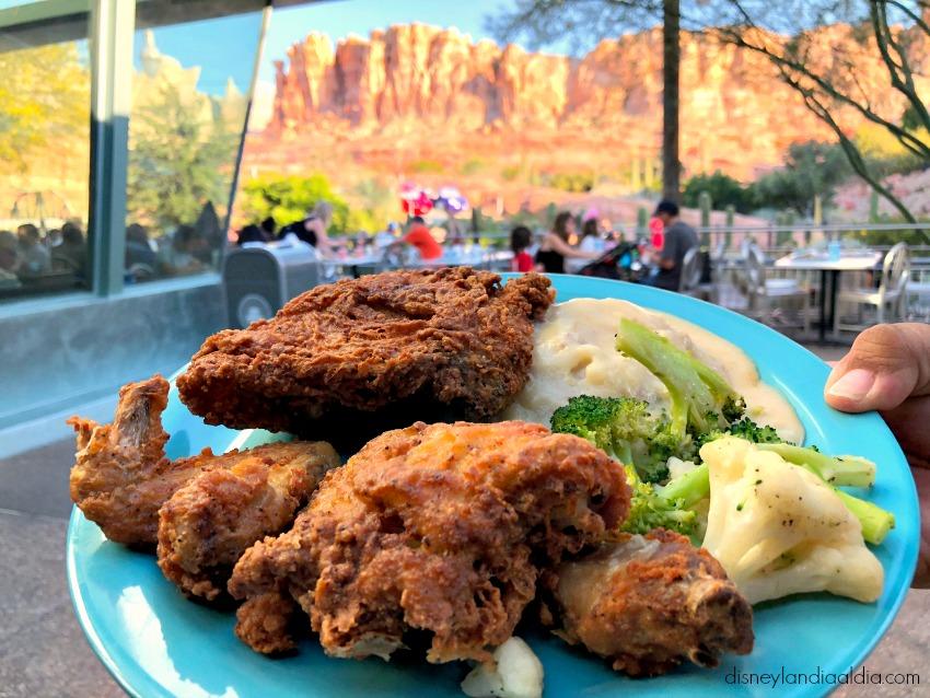 Pollo Frito en Disney California Adventure