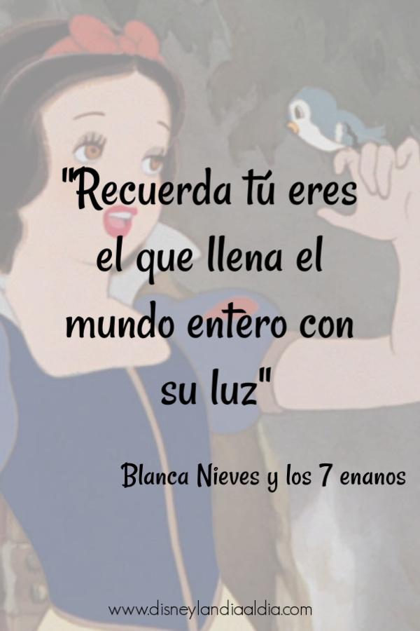 Frase de amistad de Blanca Nieves