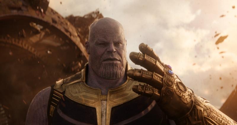Thanos en Avengers Infinity War