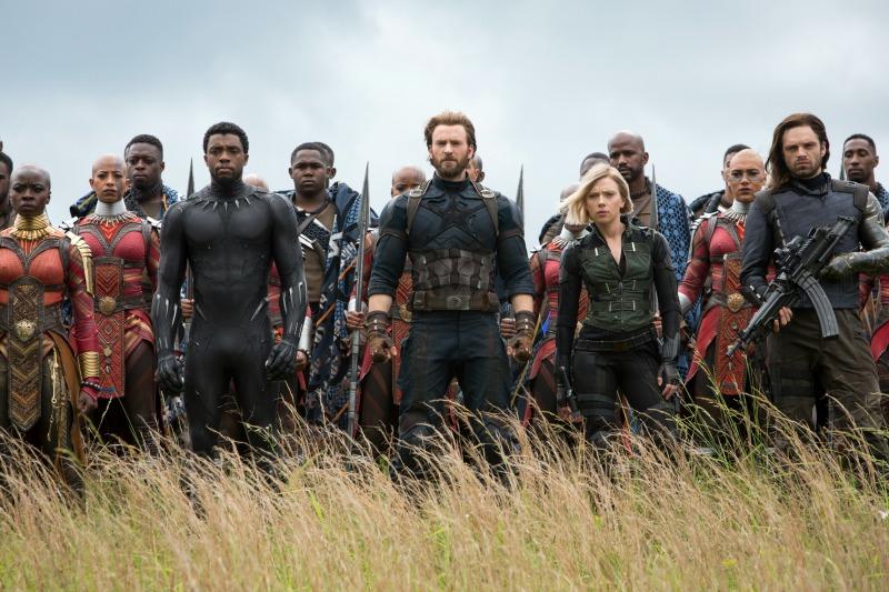 Escena de Avengers Infinity War
