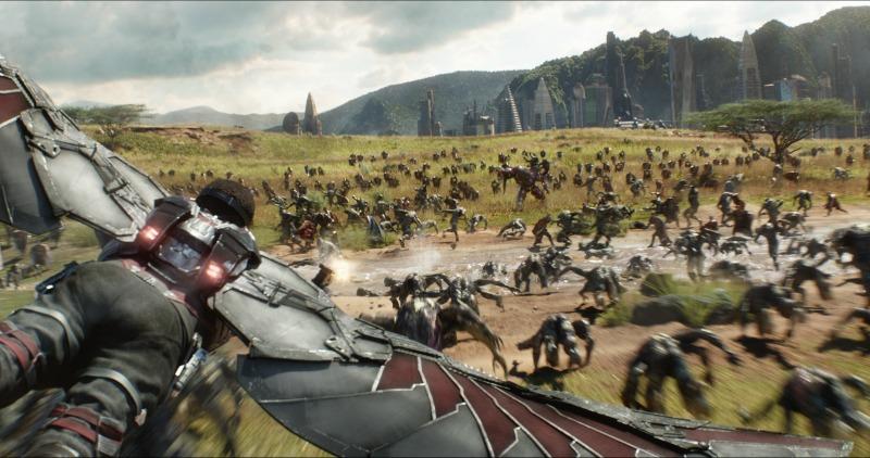 Batalla de Wakanda en Avengers Infinity War
