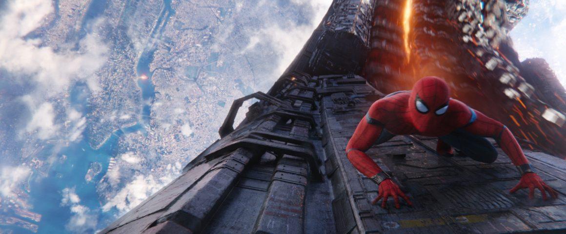 spider man en Avengers Infinity War