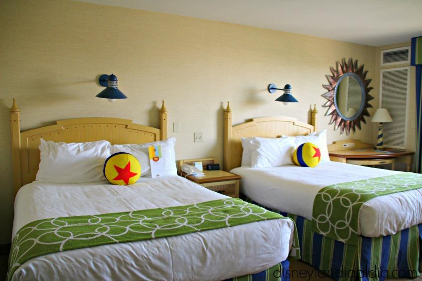 Habitaciones del Hotel Paradise Pier