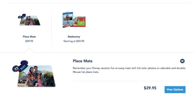 Objetos personalizados para hacer con tus fotos de Photopass de Disneylandia