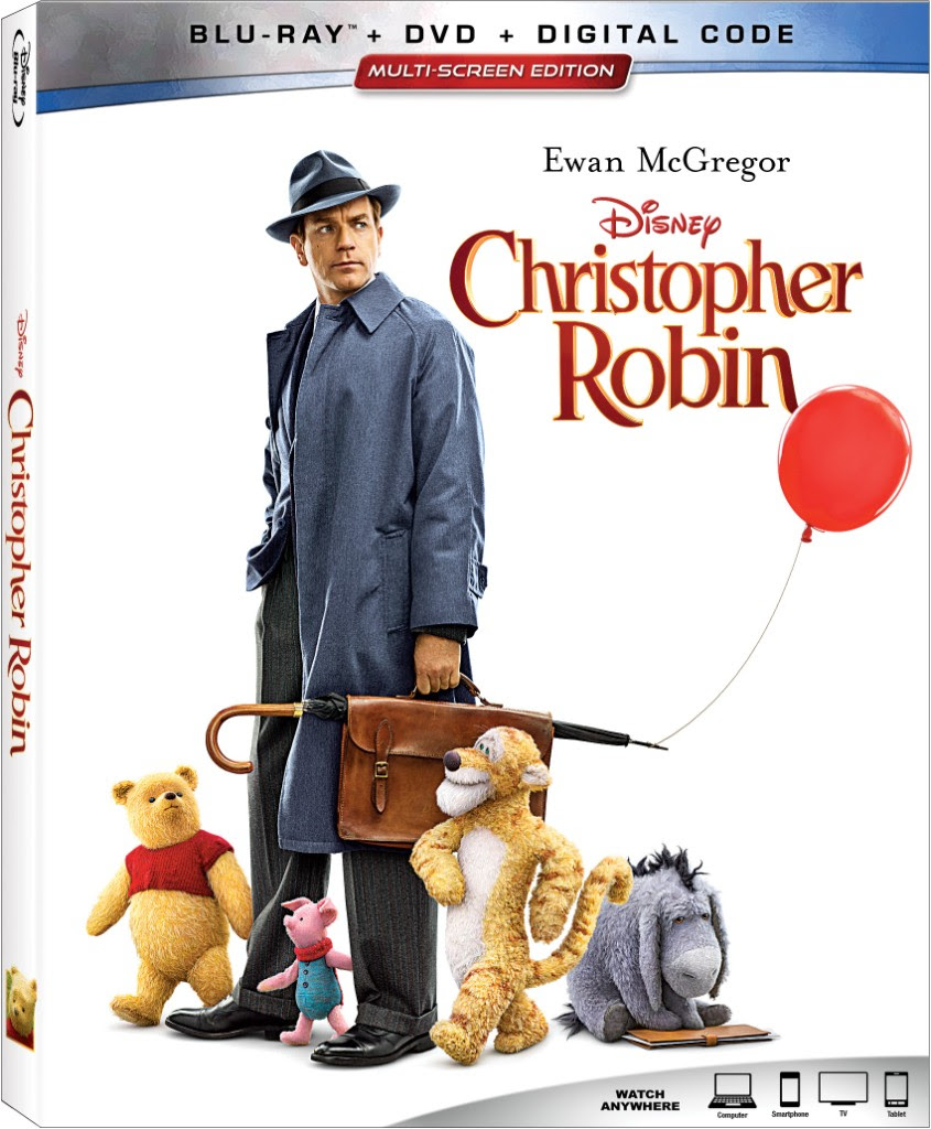 Christopher Robin en Blu-ray