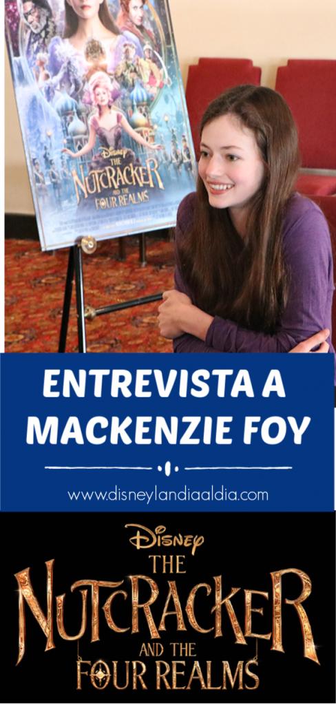 Entrevista a Mackenzie Foy - El Cascanueces y los Cuatro Reinos