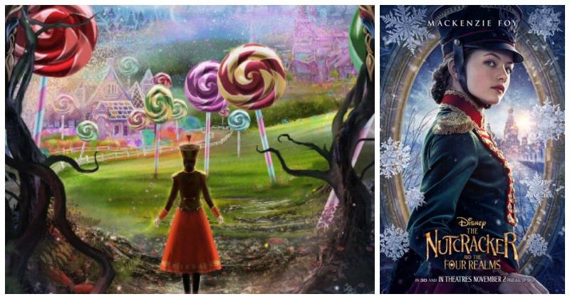 Posters de El Cascanueces y los Cuatro Reinos