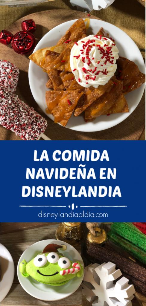 La comida navideña en Disneylandia