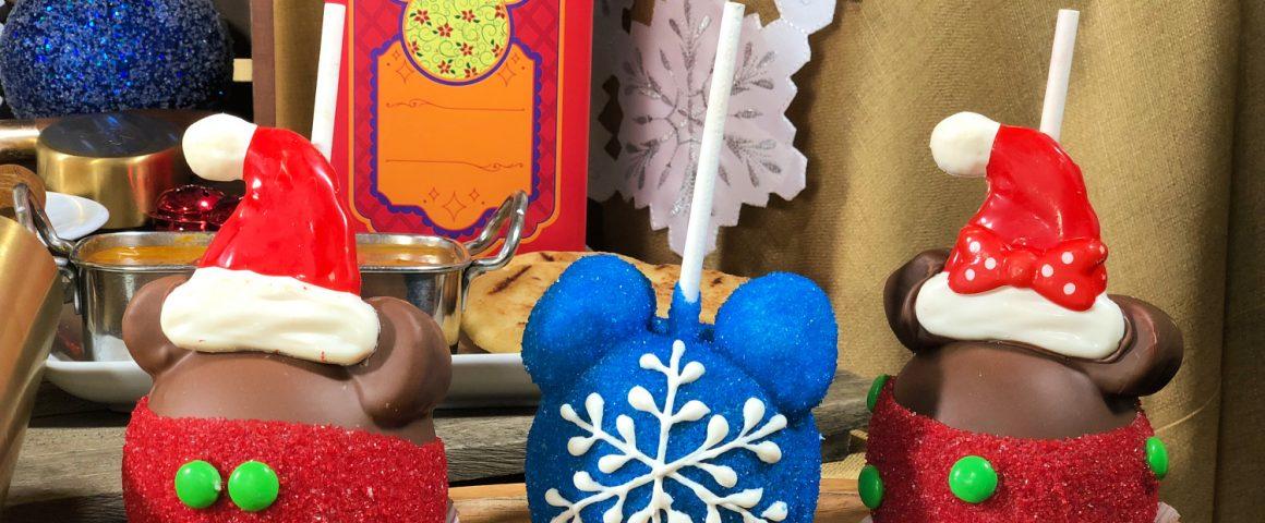 La comida navideña en Disneylandia 2018