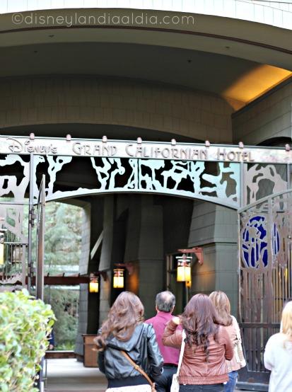 Hotel Grand Californian en Disneylandia