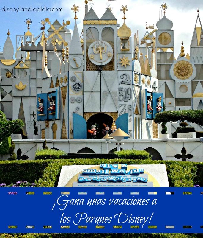 ¡Gana unas vacaciones a los Parques Disney!