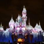 Castillo de Navidad de la Bella Durmiente en Disneylandia