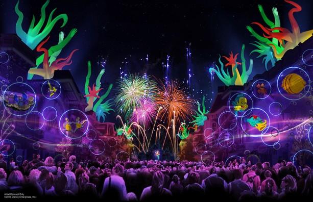 Show de Fuegos Artificiales Disneyland Forever- Disneylandia al Dia