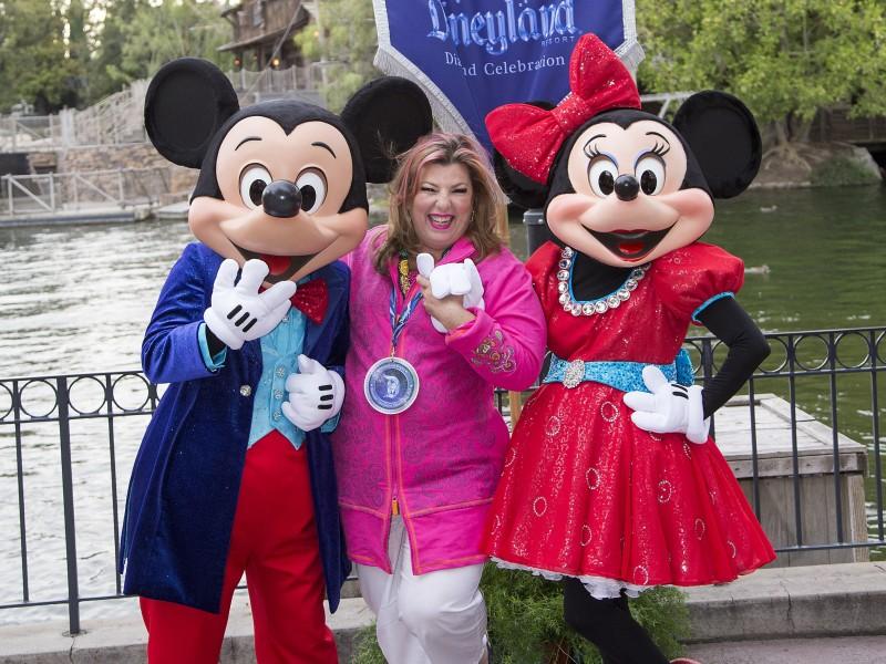 Margarita La Diosa en Disneylandia