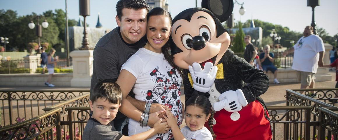 Mira quien vino al Reino Mágico ~ Joel Lizárraga en Walt Disney World