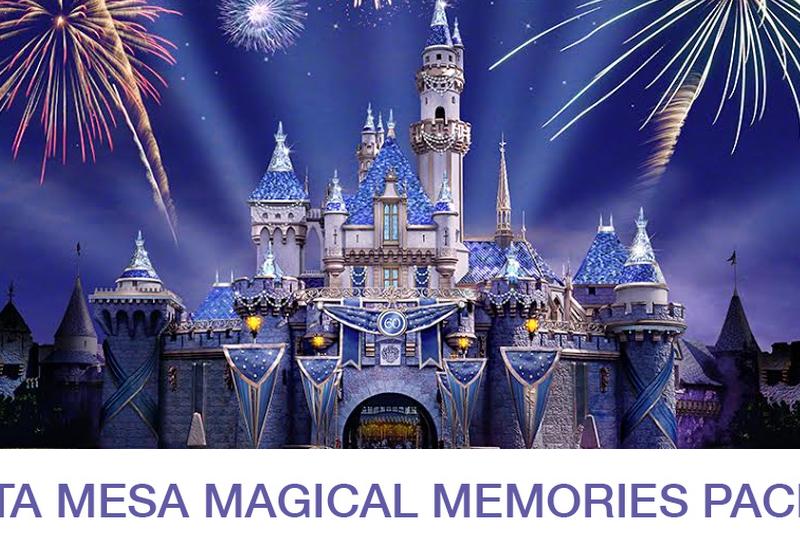 ¿Qué es el paquete Magical Memories de Costa Mesa?