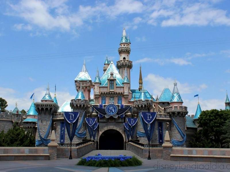 Castillo de Disneylandia