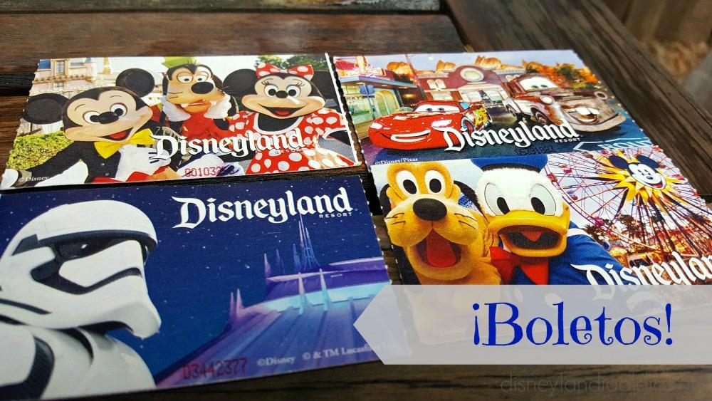 Cuanto cuestan los boletos para Disneylandia