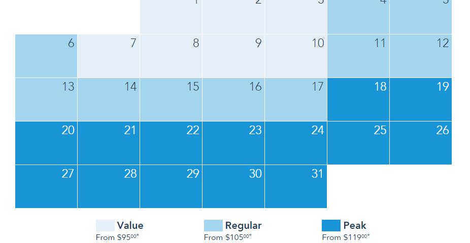 calendario para boletos de disneylandia