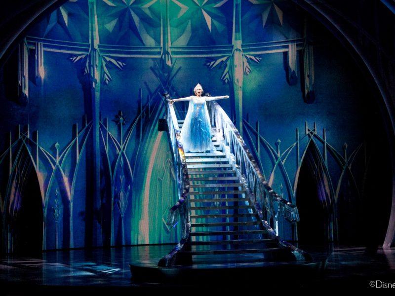Los efectos especiales de la obra teatral Frozen - Live at the Hyperion