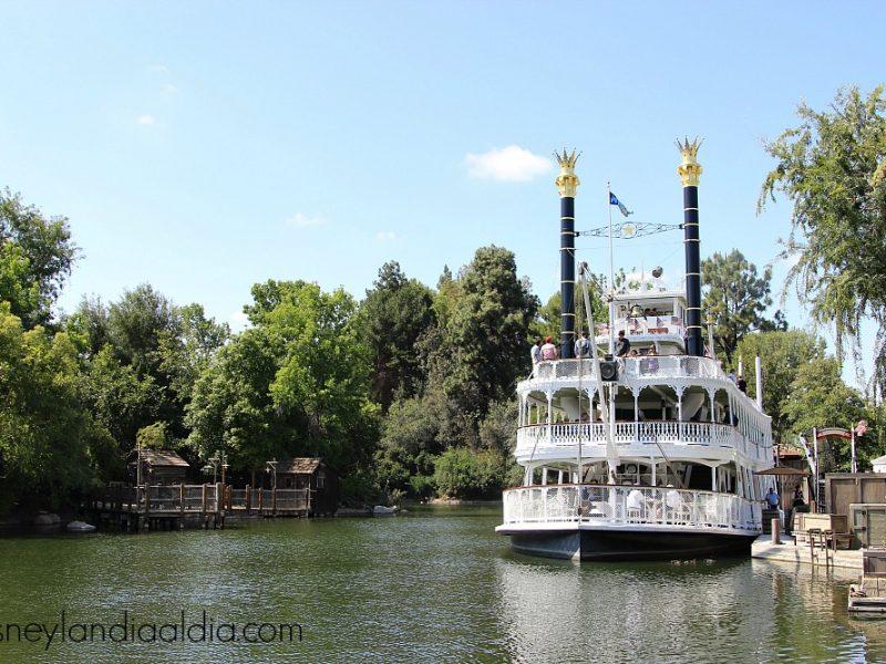 Rios de America en Disneylandia