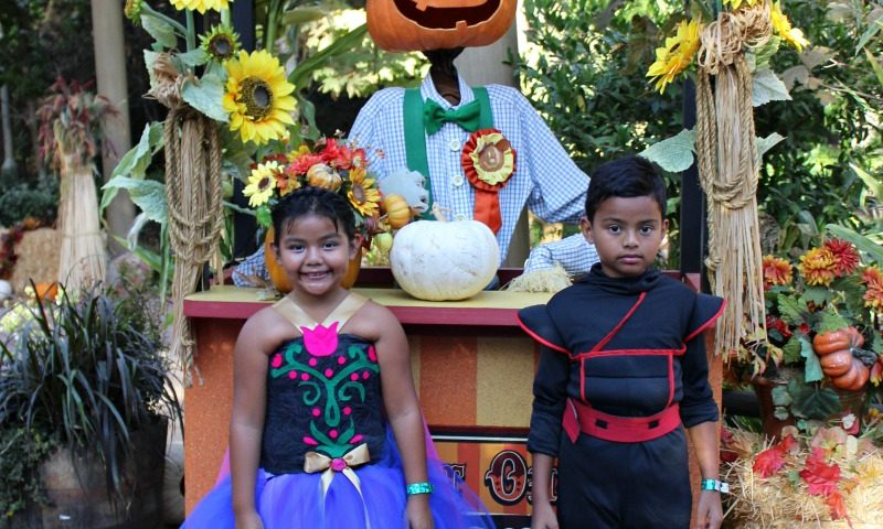 disfraces en Disneylandia Halloween