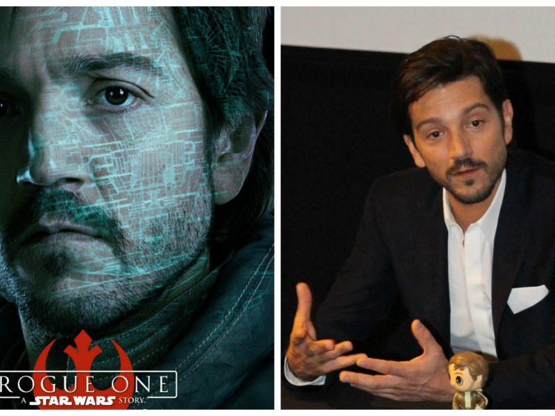 Entrevista Exclusiva con Diego Luna - Capitán Cassian Andor en Rogue One: Una Historia de Star Wars - disneylandiaaldia.com