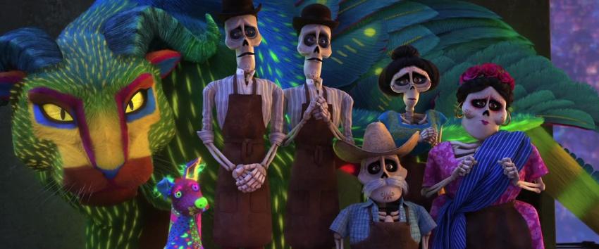 Alebrijes: Los Guías Espirituales en Coco