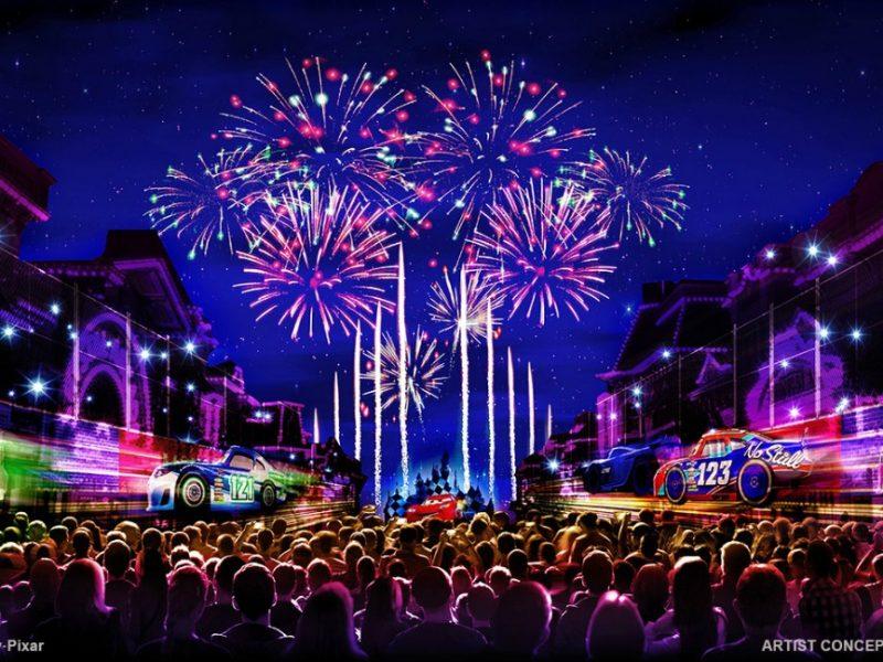 Together Forever NightTime Spectacular - Pixar Fest - disneylandiaaldia.com